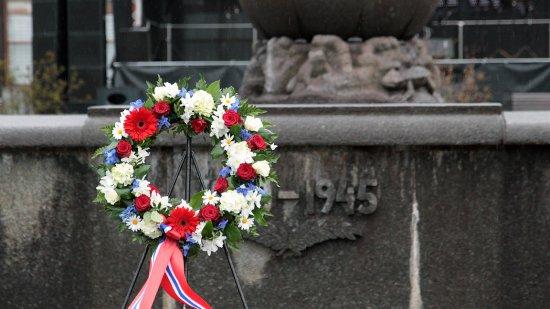 Uroczystości z okazji 75 rocznicy bitwy o Narwik. foto: mjr Robert Siemaszko