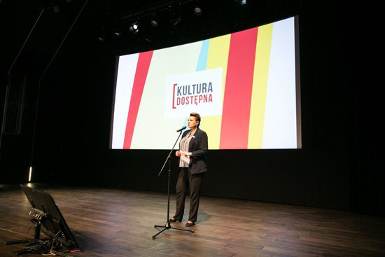 Inauguracja portalu kulturadostepna.pl. fot.: Danuta Matloch