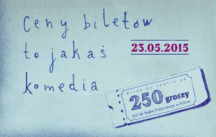 Infografika Teatr za 250 groszy