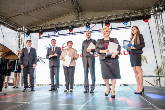 Wręczenie Międzynarodowej Nagrody Wyszehradzkiej za rok 2013. Fot.: Ministerstwo Kultury Słowacji