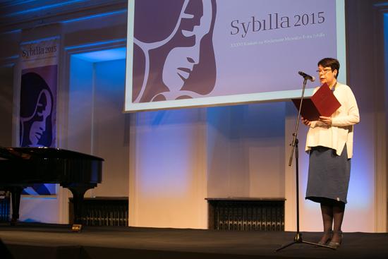 Na zdjęciu: Gala rozdania nagród w Konkursie na Wydarzenie Muzealne Roku 2015. autor zdjęcia: Danuta Matloch