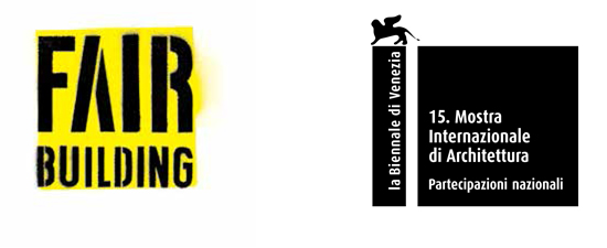 Logo La Biennale di Venezia Fair Building