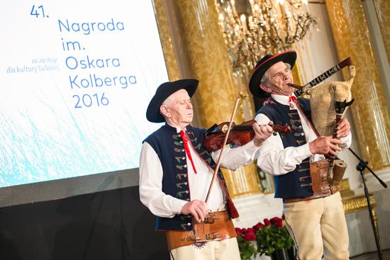 Na zdjeciu: Uroczysta Gala 41. edycji Nagrody im. Oskara Kolberga Za zasługi dla kultury ludowej. autor zdjęcia: Danuta Matloch