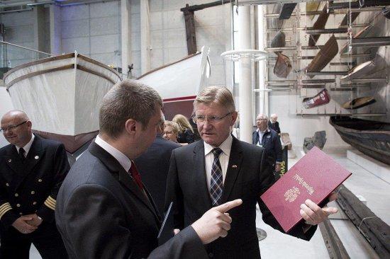 Na zdjęciu: Ambasador Karsten Klepsvik. autor zdjęcia: Krzysztof Mystkowski