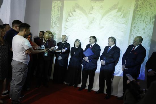 Na zdjęciu: Konferencja prasowa i otwarcie wystawy Skarby żołnierzy 2 Korpusu Polskich Sił Zbrojnych w Muzeum Archeologiczno-Etnograficznym w Łodzi. autor zdjęcia: Danuta Matloch