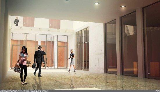 Na zdjęciu: Nowa siedziba Archiwum Państwowego w Białymstoku - wizualizacja