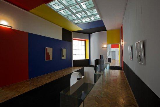 Na zdjęciu: Sala Neoplastyczna w Muzeum Sztuki w Łodzi,  autor zdjęcia: P. Tomczyk.jpg