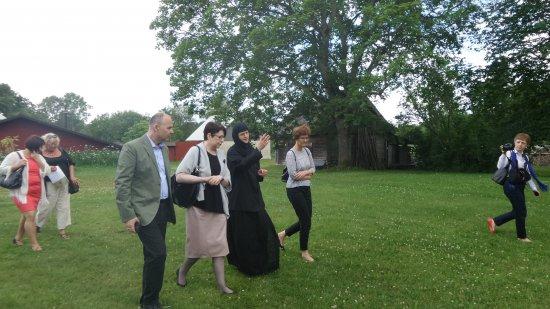 Na zdjęciu: Podsekretarz Stanu w Ministerstwie Kultury i Dziedzictwa Narodowego Wanda Zwinogrodzka podczas wizyty w Estonii.