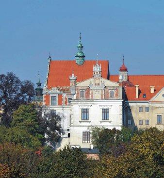 Na zdjęciu: Klasztor Ojców Dominikanów w Lublinie