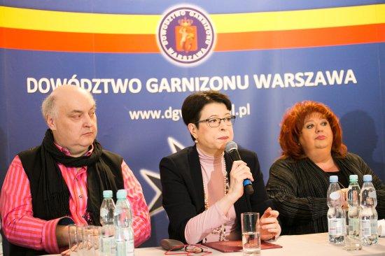 Wiceminister Zwinogrodzka na konferencji w sprawie Teatru Żydowskiego