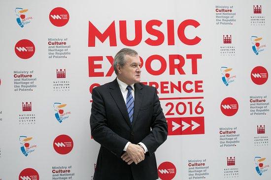 otwarcie konferencji poświęconej eksportowi muzyki