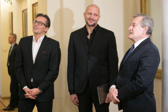 Otwarcie wystawy fotograficznych portretów laureatów Dorocznych Nagród Ministra Kultury i Dziedzictwa Narodowego