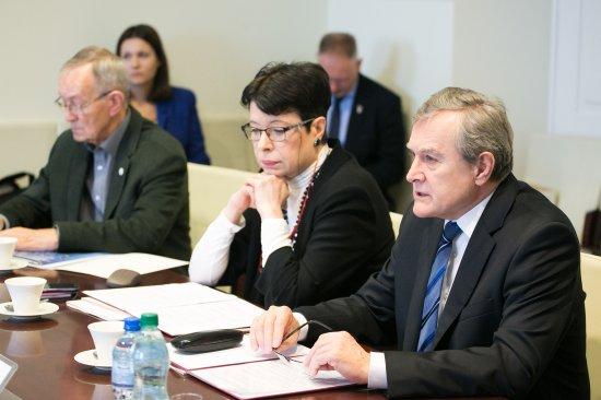 Na zdjęciu:Inauguracyjne posiedzenie Rady do spraw Instytucji Artystycznych drugiej kadencji. autor zdjęcia: Danuta Matloch