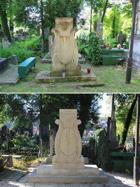 Na zdjęciu: Grobowiec Karola Brzozowskiego