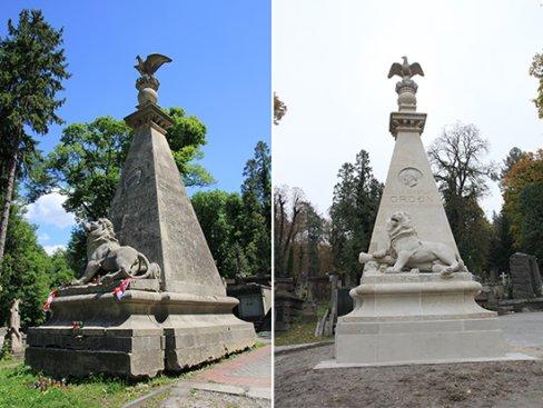 Na zdjęciu: Pomnik nagrobny Juliana Konstantego Ordon