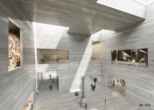 Na zdjęciu: Projekt architektoniczny Muzeum Historii Polski