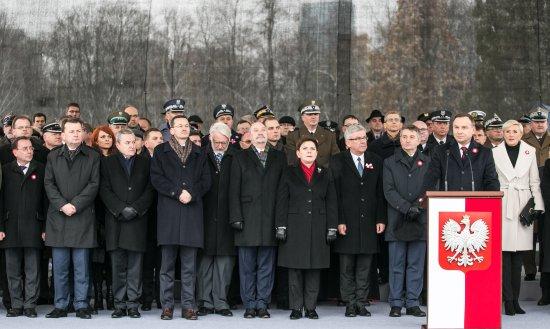 Na zdjęciu: Obchody Dnia Niepodległości przed Grobem Nieznanego Żołnierza. autor zdjęcia: Danuta Matloch