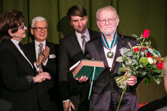 Piotr Szczepanik odebrał Złoty Medal - Zasłużony Kulturze Gloria Artis
