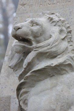 Na zdjęciu: Pomnik - rocznica powstania listopadowego