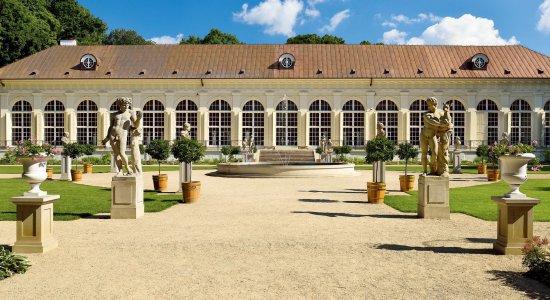 Nazdjęciu: Łazienki Królewskie w Warszawie