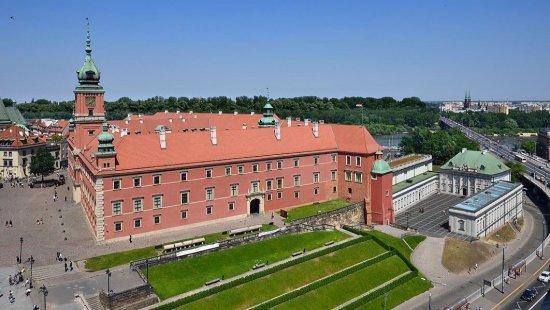 Nazdjęciu: Zamek Królewski w Warszawie