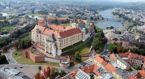 Nazdjęciu: Zamek Królewski na Wawelu