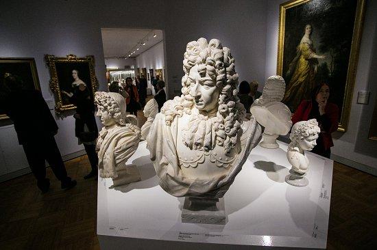 Na zdjęciu: Eksponaty Nowej Galerii Sztuki Dawnej