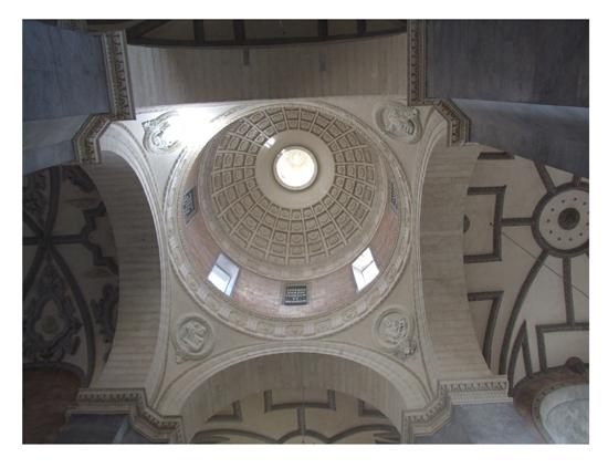 Na zdjęciu: Kolegiata p.w. św. Wawrzyńca w Żółkwi (obecnie kościół parafialny). Prace konserwatorskie sklepień.