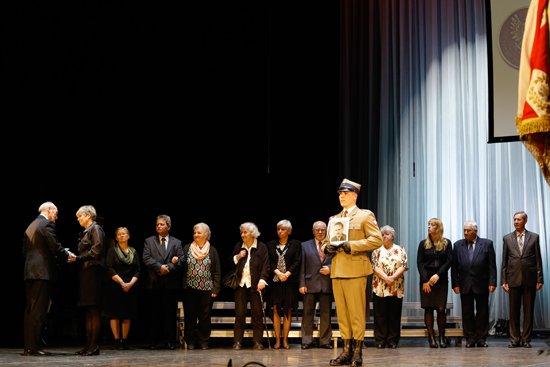 Na zdjęciu: Koncert patriotyczny w Teatrze Polskim w Warszawie z okazji Narodowego Dnia Pamięci Żołnierzy Wyklętych. autor zdjęcia: Danuta Matloch