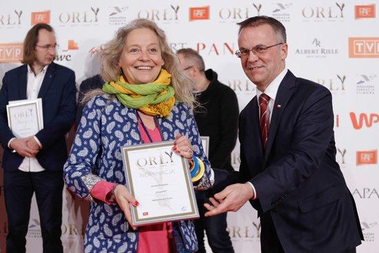 Na zdjęciu: Polskie Nagrody Filmowe Orły 2016. autor zdjęcia: Danuta Matloch