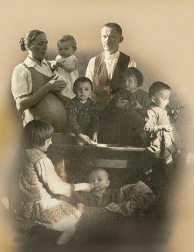 na zdjęciu: Muzeum Polaków Ratujących Żydów im. Rodziny Ulmów - zdjęcie rodziny Ulmów. autor zdjęcia:  Michał Mielniczuk/UM Województwa Podkarpackiego