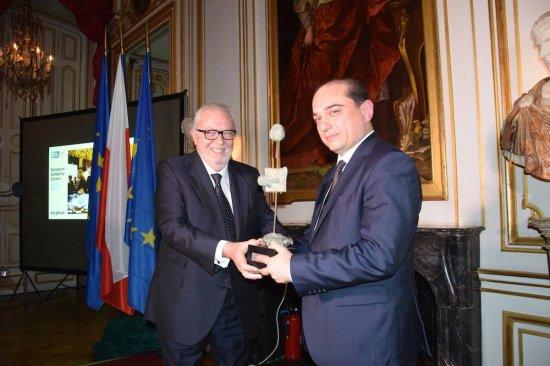 Na zdjęciu: Uroczystość wręczenia Nagrody Muzealnej Rady Europy 2016