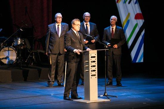 Na zdjęciu: Inauguracja Roku Kultury Wegierskiej w Polsce. autor zdjęcia: Danuta Matloch