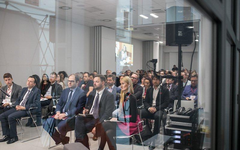 Na zdjęciu: Wiceminister kultury Paweł Lewandowski na otwarciu konferencji Music Export Conference. autor zdjęcia Danuta Matloch
