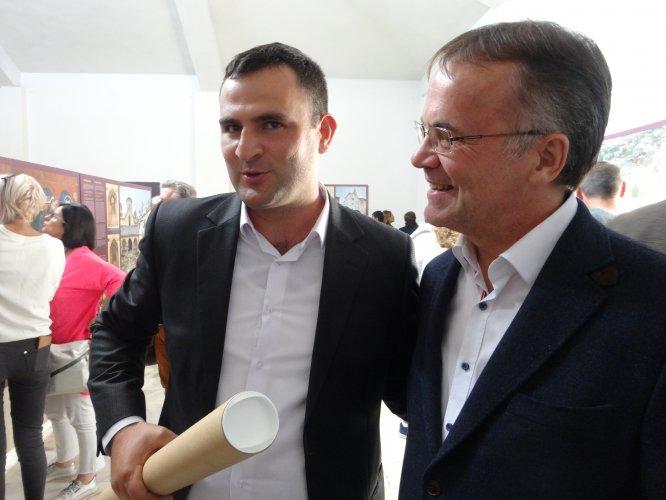 Na zdjęciu: Wystawa w Muzeum Regionalnym w Yeghegnadzor otwarta z udziałem wiceministra Jarosława Sellina. autor zdjęcia Dorota Janiszewska-Jakubiak/ MKiDN