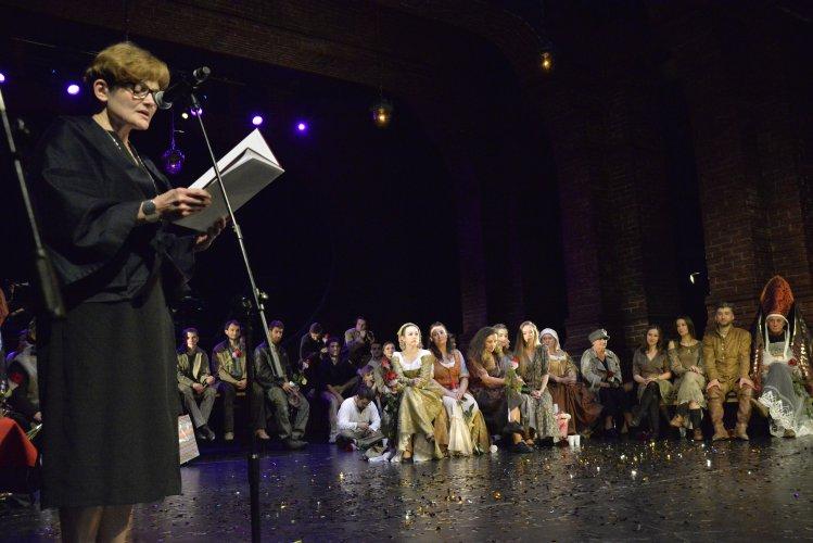 Na zdjęciu: Uroczystości z okazji jubileuszu 40-lecia Teatru Powszechnego w Radomiu