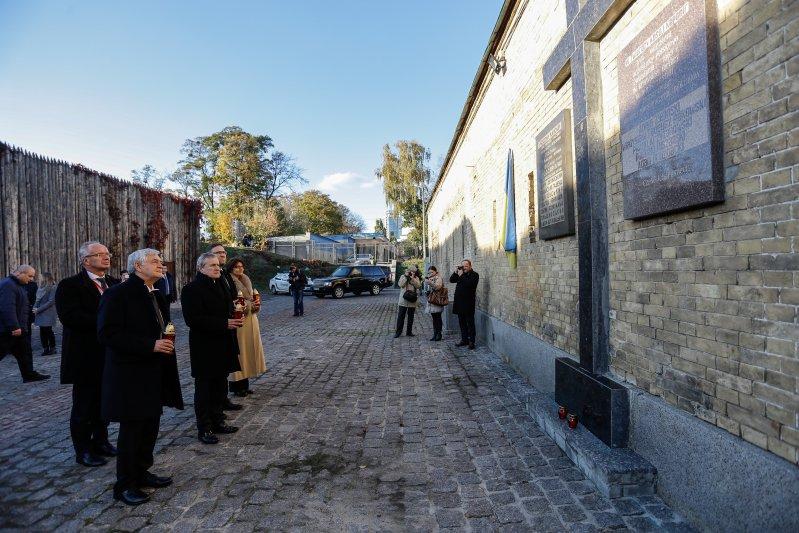 Minister Piotr Gliński w Muzeum -  Twierdzy Kijowskiej. autor zdjęcia: Danuta Matloch