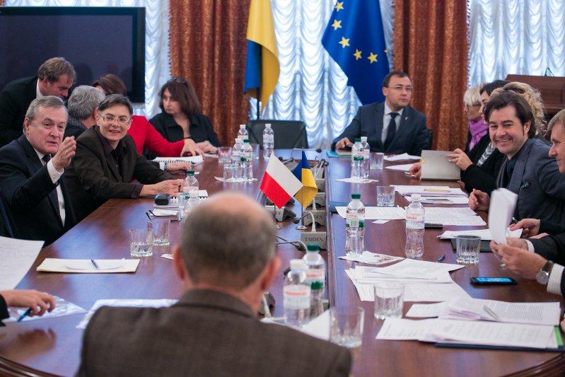 Spotkanie dotyczące perspektyw dialogu dwustronnego w obszarze historycznym. autor zdjęcia: Danuta Matloch