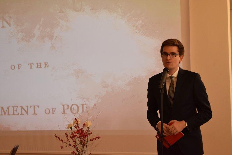 Marcin Łapczyński,  Dyrektor Instytutu Polskiego w Wilnie. Fot. Ruta Steponavičiute,  The Office of Chief Archivist of Lithuania
