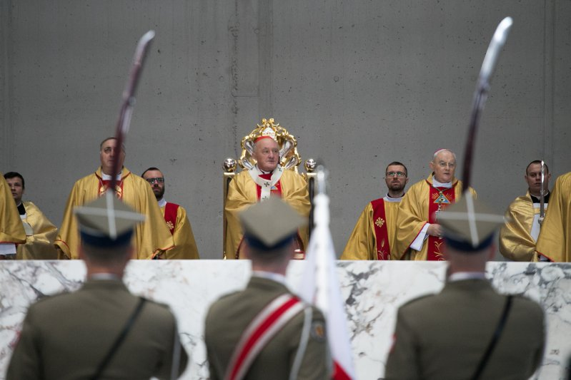 Msza św. za ojczyznę w Świątyni Opatrzności Bożej,  autor zdjęcia: Danuta Matloch