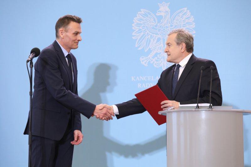 Na zdjęciu: powołanie Wojciecha Kaczmarczyka na stanowisko dyrektora Narodowego Instytutu Wolności