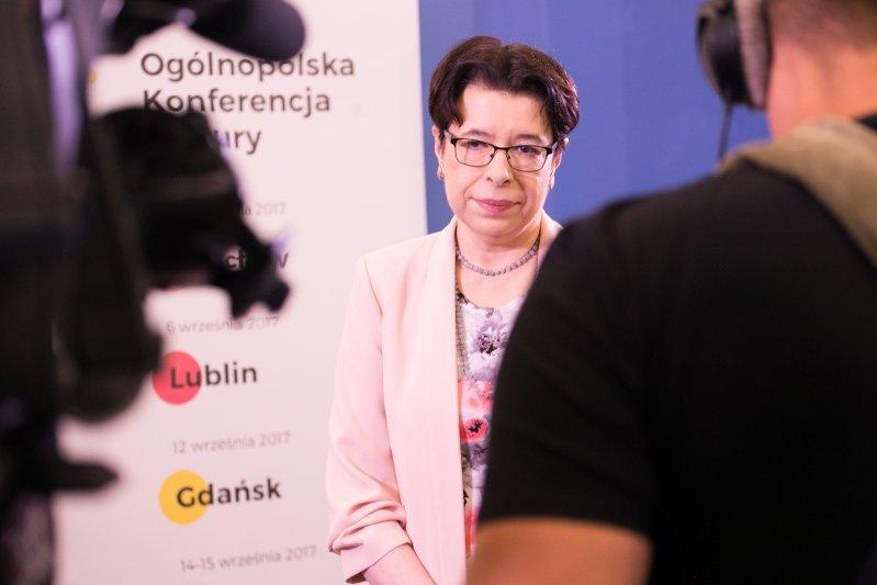 Na zdjęciu: Wiceminister Wanda Zwinogrodzka