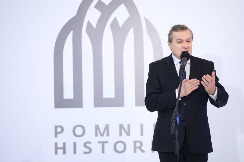 Na zdjęciu: uroczystość wpisania 11 zabytków na listę Pomników Historii