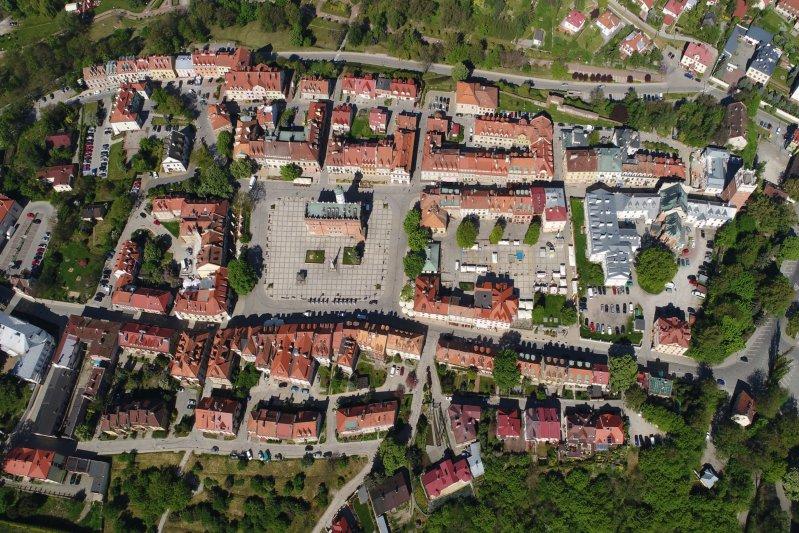 Na zdjęciu: Zabytek wpisany na listę Pomników Historii - Sandomierz