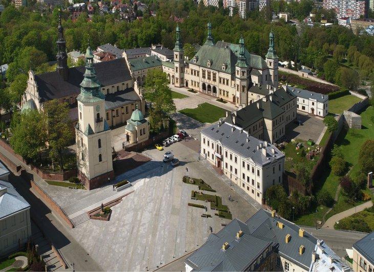 Na zdjęciu: Zabytek wpisany na listę Pomników Historii - Kielce
