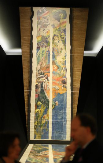 Na zdjęciu: wernisaż wystawy: Wyspiański