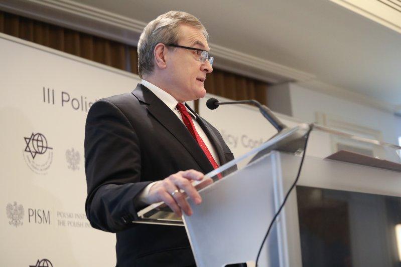 Na zdjęciu: Otwarcie III polsko-izraelskiej konferencji poświęconej polityce zagranicznej