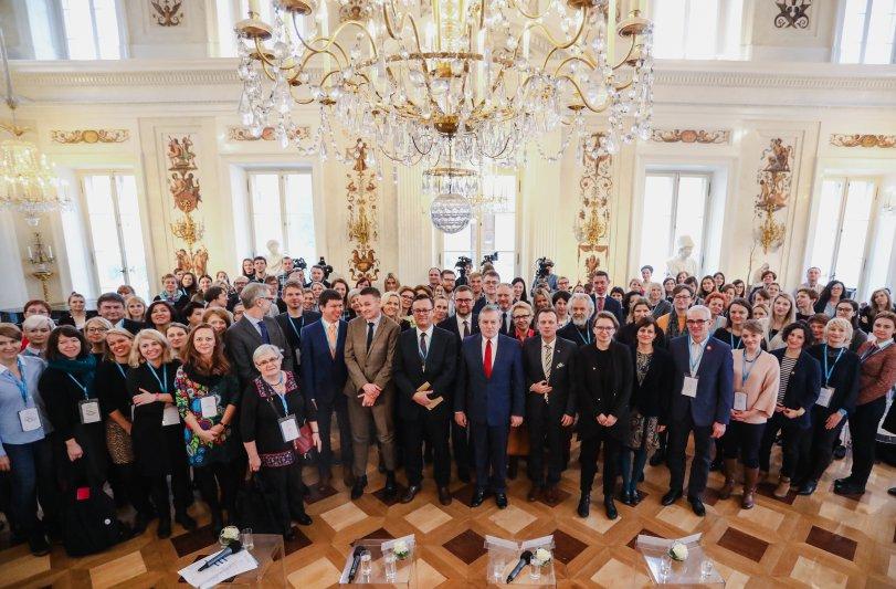 """Na zdjęciu:  II Ogólnopolskiej Konferencji """"Wolontariat w kulturze: uczestnictwo,  społeczność,  rozwój"""""""