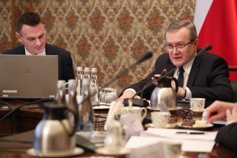Na zdjęciu: Inauguracyjne posiedzenie Komitetu ds. Pożytku Publicznego