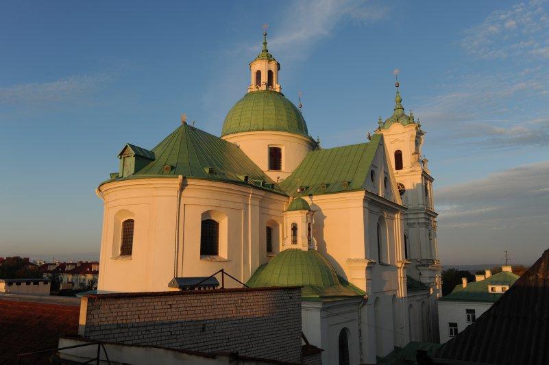 Na zdjęciu: Katedra w Grodnie